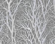 Gräser Vlies Tapete A.S.Crèation 30094-3  Grau
