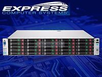 HP ProLiant DL380p G8 Gen8 E5-2640 2.5GHz 6-Core 96GB 25x 1TB 7.2K SFF