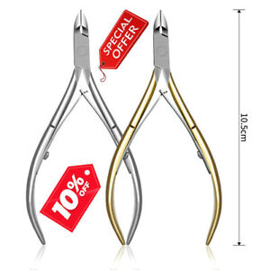 Toe nail Clippers for Thick Ingrown Nails Stainless Steel Heavy Duty Nail Cutter