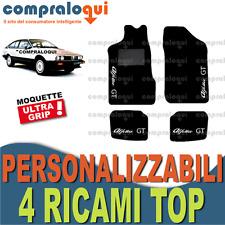 Tappeti per ALFA ROMEO Alfetta GT in moquette su misura 4 Decori Top ricamati