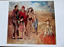 Pablo Picasso Poster   Family of  Saltimbanques Offset Lithograph   16X11""