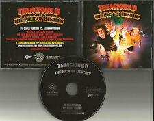 Jack Black TENACIOUS Pick of Destiny w/UNRELEASED TRK & CLEAN PROMO DJ CD Single