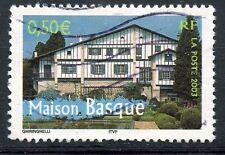 TIMBRE FRANCE OBLITERE N° 3603 MAISON BASQUE / Photo non contractuelle