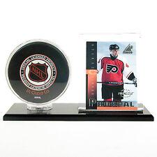 SAF-T-GARD NHL Hockey Puck & Card Holder w/ Black Acrylic Base - AH02
