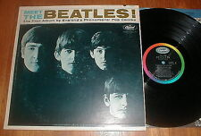 "BEATLES 1964 ""Meet The Beatles"" LP MONO Rare 1 BMI VG+"