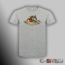 Camiseta cubo rubik derretido basado big bang sheldon cooper  (ENVIO 24/48h)