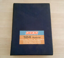 Fiat 124 Special / Special T Catalogo Ricambi 1968-72 Multilingua 816 pag