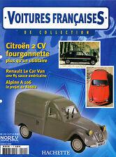 VOITURES FRANCAISES HACHETTE FASCICULE N°11 CITROEN 2CV FOURGONNETTE 1951