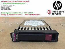 "HP 146GB 3G 10K 2.5"" SAS Dual Port Hard Drive ** 418367-B21 / 418399-001 **"