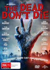 The Dead Don't Die 2019 and DVD Dark Comedy Zombies Bill Murray Tilda Swinton