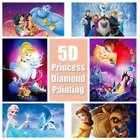 5D Princess Design Full Drill Diamond Painting DIY Cross Stitch Embroidery Kit