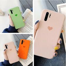 Cute Heart Soft Rubber Silicone Slim Case Cover For Samsung Galaxy Note 10 Plus