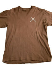 DC shoes Switchblade Shirt, Size XL, Brown Shirt, Outsiders