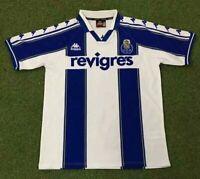 1997-99 Porto Home Retro Soccer Jersey
