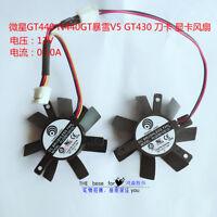 FOR MSI GT440 N440GT Blizzard V5 GT430 Graphics Card Fan PLD05010S12L 45MM