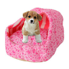 Detachable Washable Slipper Style Pet Puppy Dog Cat Soft Warm Slippers Bed Nest