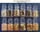 One Filled Glass Sweet Jars Choice of Twelve, Doll House Miniatures Sweets