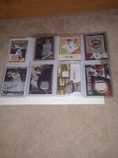 """8 Card Lot of Yankee Cards """"Autograph, Relics, and a Refractor"""""""