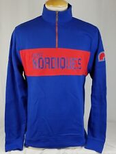 Brand New Majestic NHL Quebec Nordiques Vintage Collection Quarter Zip
