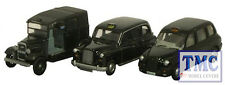 76SET09 oxford diecast 1:76 scale oo gauge triple taxi