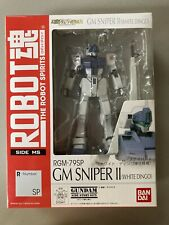 Bandai Robot Spirits Damashii Gundam GM Sniper White Dingo Action Figure