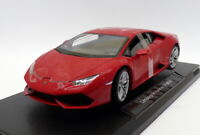 Welly 1/18 Scale 18049W - Lamborghini Huracan LP 610-4 - Red