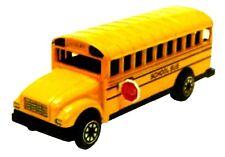 Yellow School Bus Die Cast Metal Collectible Pencil Sharpener