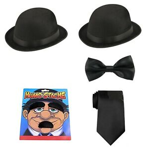 Laurel And Hardy 1920's Double Act TV Films Stag Night Fancy Dress Costume Set