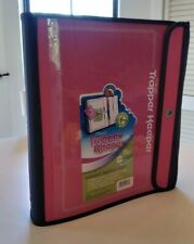 """Trapper Keeper Mead Pink 1.5"""" Binder 3 Ring"""