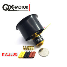 55mm/64mm 6/5 Blades EDF Ducted Fan with QF2611 3500KV/4500KV Brushless Motor