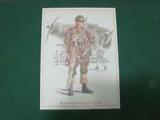 Vintage - Parachutiste 10° Régiment Arditi, Vieille Impression 21x28