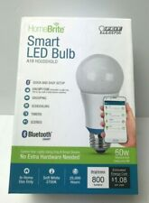 Soft White 60W (2700K) A19 Dimmable HomeBrite Bluetooth Smart LED Light