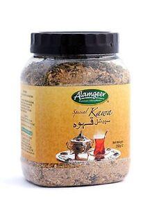 Special Tea Kahwa Loose, Cinnamon,Ginger,Cardamon,Herbal,Tisane 175g x 2 Jar