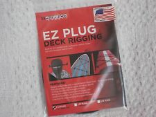 Surfco Hawaii Ez Plug Stick On Deck Rigging Kit Black 2 Position New In Package