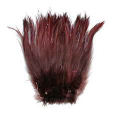 """7.0g, 1/4OZ, 5-7"""" Rooster COQUE Hackle Feathers for crafting, 20+ Colors to pick"""