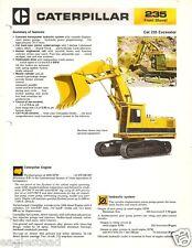 Equipment Brochure - Caterpillar - 235 - Excavator - Front Shovel c1980 (E2020)