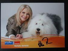 """Autogrammkarte: """"Uta Bresan""""- MDR-Fernsehen - handsigniert"""