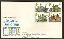 GREAT BRITAIN, BRITISH ARCHITECTURE HISTORIC BUILDINGS 1st Day Cover, 01/03/1978