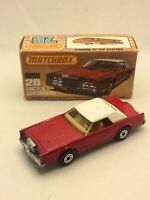 Matchbox Superfast 28 Lincoln Continental MIB
