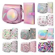 Carry Case Cover Bag + 96 Pocket Photo Album For Fujifilm Instax Mini 8 9 Camera