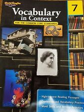 Vocabulary in Context for the Common Core Standards, Grade 7 by Paperback Book