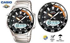Casio Mens Watch Outgear Analog Digital Graph Moon Phase AMW-710D-1A
