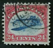 "USA 1918 Inverted Jenny #C3a used VF+ signed ""Peter Winter"" back  Rare Forgery!"