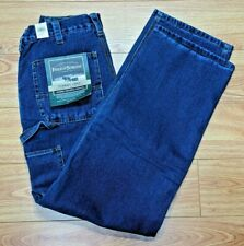 Field & Stream New Men's Flannel Lined 32X36 Carpenter Work Outdoor Jeans NWT