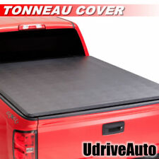 Lock & Soft Roll Up Tonneau Cover For 2004-2018 Ford F-150 5.5ft /  66in Bed