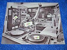 Press Photo Wolfman Jack Calif. Disc Jockey Broadcast In Studio From 1978 Movie