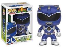 "MIGHTY MORPHIN POWER RANGERS - BLUE RANGER 3.75"" POP TV VINYL FIGURE FUNKO"
