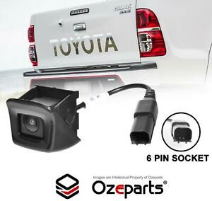 Back Up Rear View Tailgate Reverse Camera For Toyota Hilux 2WD 4WD Ute 2005~2015