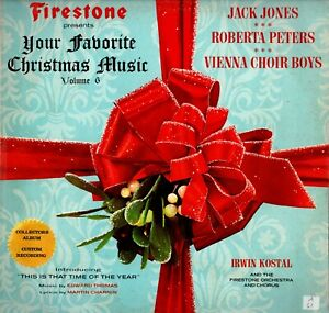 FIRESTONE PRESENTS YOUR FAVORITE CHRISTMAS MUSIC VOLUME 6 Mono LP 1967