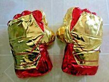 Ironman Boxing Gloves Plush Adult Kids Toys